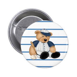 Playball Baseball Pinback Button