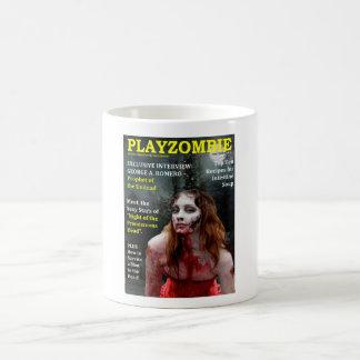 Playboy zombie spoof basic white mug