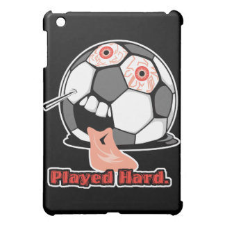 played hard funny deflated soccer ball sports iPad mini cases