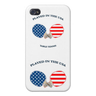 Played in USA Table Tennis iPhone 4/4S Covers