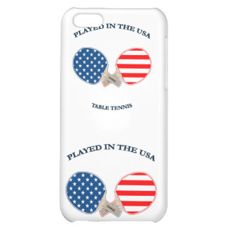 Played in USA Table Tennis iPhone 5C Cover