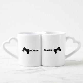 Player 1 and Player 2 Mug Set