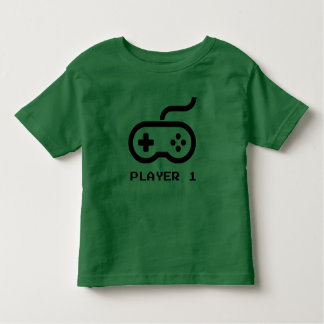 Player 1 - Video Games Toddler T-Shirt