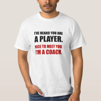 Player Coach T-Shirt