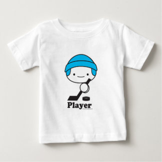 Player (hockey) Baby Apparel (more styles) Baby T-Shirt