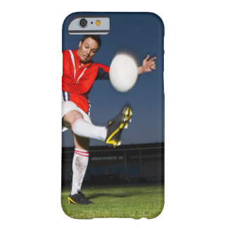 Player kicking ball barely there iPhone 6 case