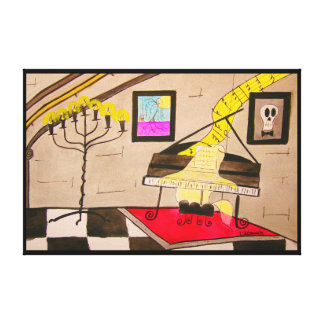 Player Piano? Canvas Print