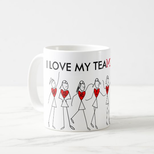 Player Positions and Fun Netball Team Quote Coffee