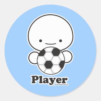 Player (soccer) Sticker Sheet (more sizes)