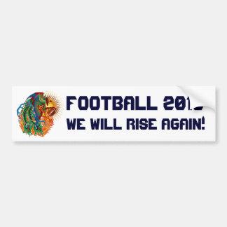"Players Football Phoenix Bird ""Rise Again!"" Bumper Sticker"