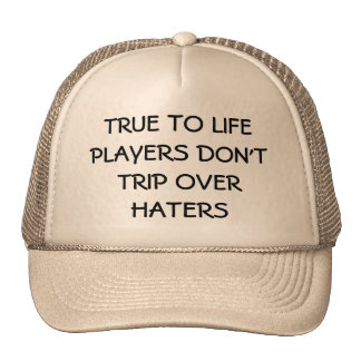 Players > Haters Trucker Hats