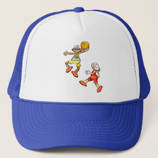 Players of Basketball Trucker Hat