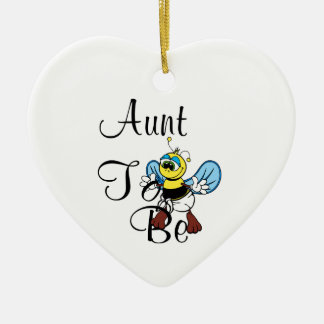 Playful Aunt To Bee Christmas Ornament