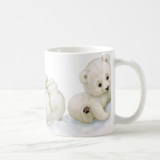 Playful Baby Polar Bears Mug