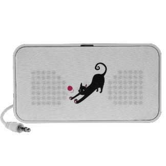 Playful Cat Mini Speakers