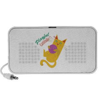 Playful Catitude Portable Speaker