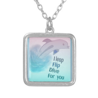 Playful Dolphin Necklace