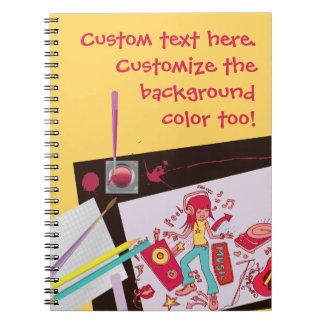 Playful Doodles Art Notebook