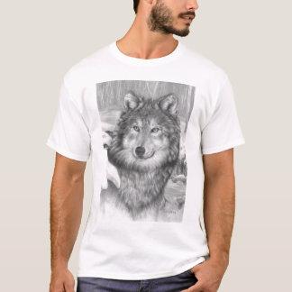Playful Eyes wolf t-shirt