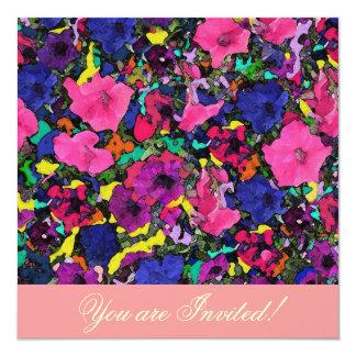 Playful Flowers ~ Invitations
