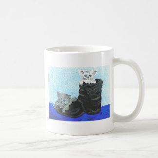 Playful Hide and Seek Kittens Coffee Mugs