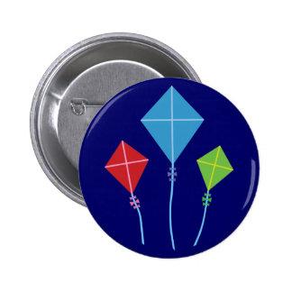 Playful Kites 6 Cm Round Badge