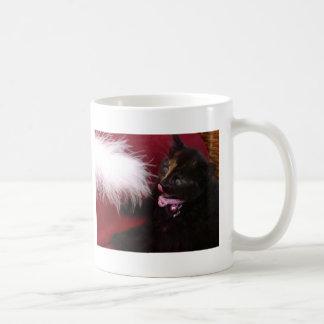 playful kitten coffee mugs