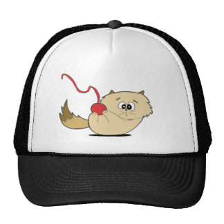 Playful Kitten Mesh Hat