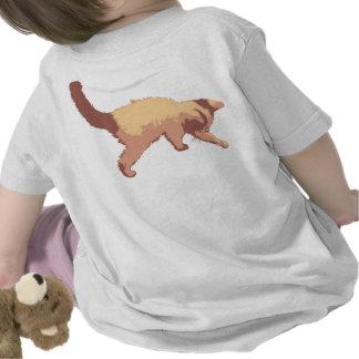 Playful kitten t-shirts
