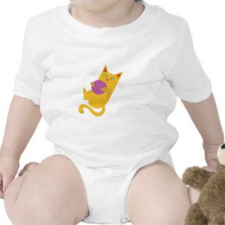 Playful Kitten Baby Bodysuit
