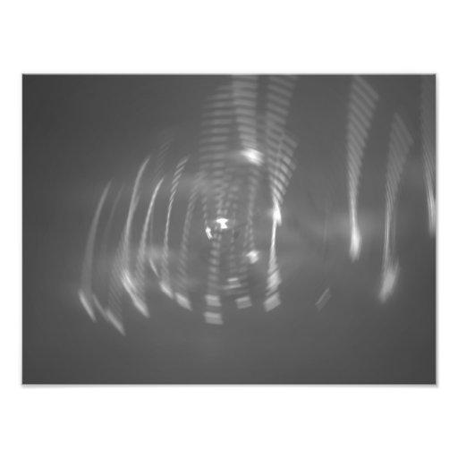 Playful lights photo print