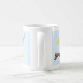 Playful mice coffee mug