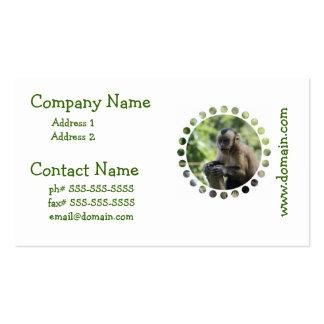 Playful Monkey Business Cards