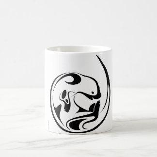 Playful Otter Basic White Mug