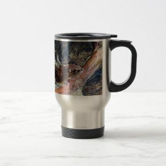 Playful Otter Stainless Steel Travel Mug