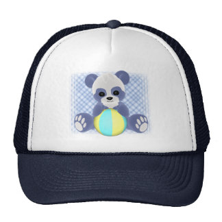 Playful Panda Baby Boy Hat