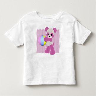 Playful Panda Girl T-Shirt Toddler