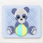 Playful Panda Mousepad