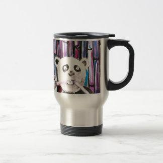 Playful Panda Stainless Steel Travel Mug
