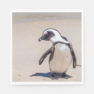 Playful Penguin Napkins Disposable Serviette