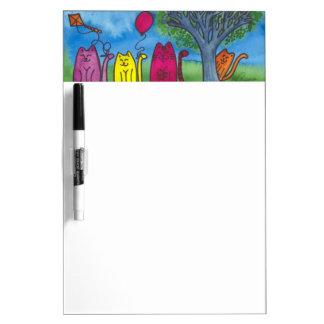 Playful Summer Kittens Dry Erase Whiteboards