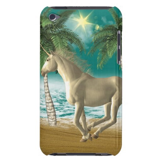 Playful Unicorn Barely There iPod Covers