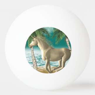 Playful Unicorn Ping Pong Ball