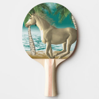 Playful Unicorn Ping Pong Paddle