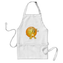 Playful yellow Gelert aprons