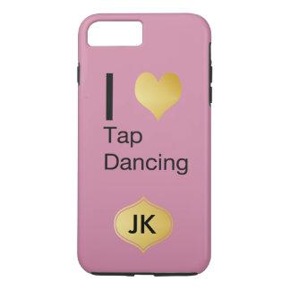 Playfully Elegant I Heart Tap Dancing iPhone 7 Plus Case