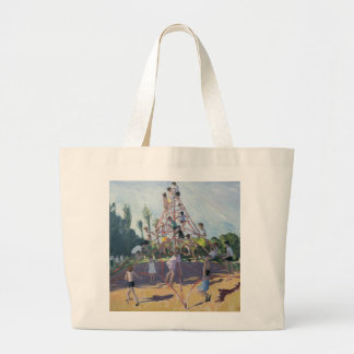 Playground Derby 1990 Large Tote Bag