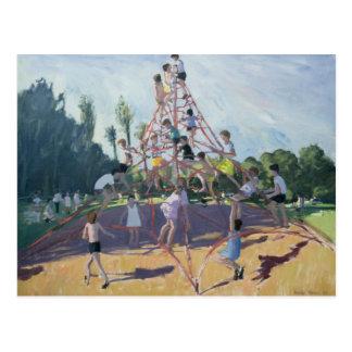 Playground Derby 1990 Postcard