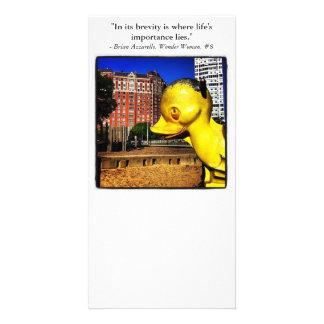 Playground Duck Photo Greeting Card