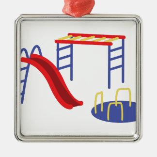 Playground Equipment Christmas Ornament